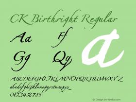 CK Birthright