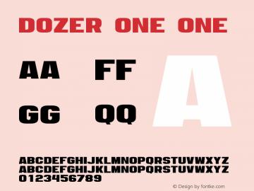 Dozer One