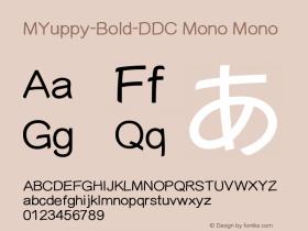 MYuppy-Bold-DDC Mono