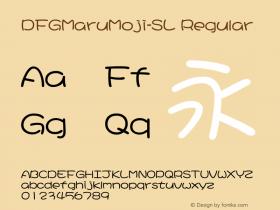 DFGMaruMoji-SL