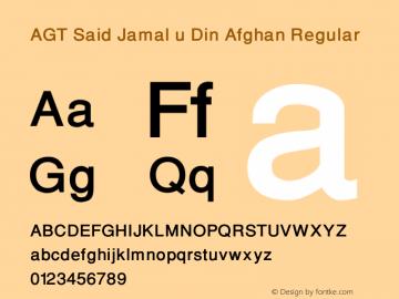 AGT Said Jamal u Din Afghan