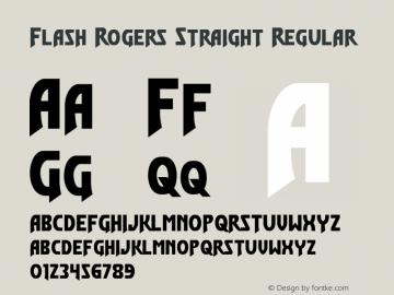 Flash Rogers Straight