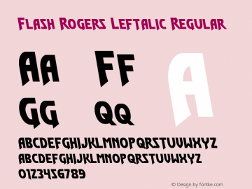 Flash Rogers Leftalic