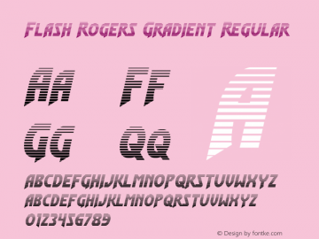 Flash Rogers Gradient