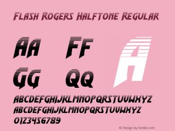 Flash Rogers Halftone