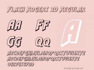 Flash Rogers 3D