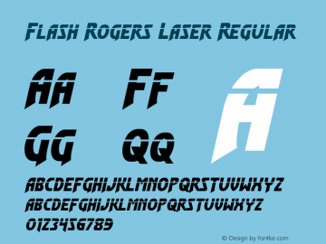 Flash Rogers Laser