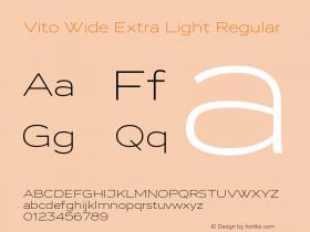 Vito Wide Extra Light