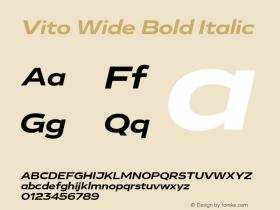 Vito Wide Bold