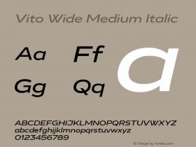 Vito Wide Medium