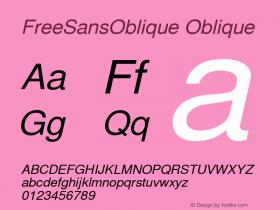 FreeSansOblique
