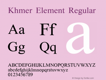 Khmer Element