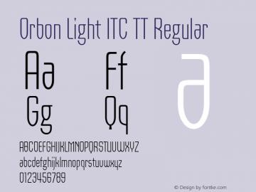 Orbon Light ITC TT