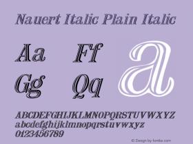Nauert Italic