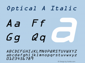 Optical A
