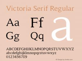 Victoria Serif