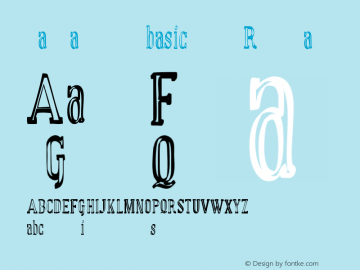 manual font basic