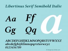 Libertinus Serif