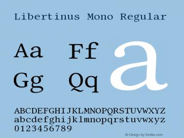 Libertinus Mono
