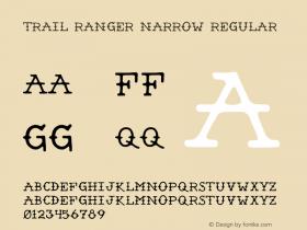 Trail Ranger Narrow