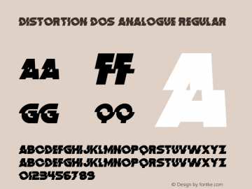 Distortion Dos Analogue