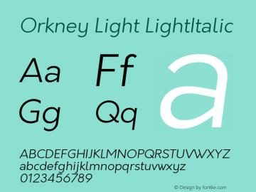 Orkney Light
