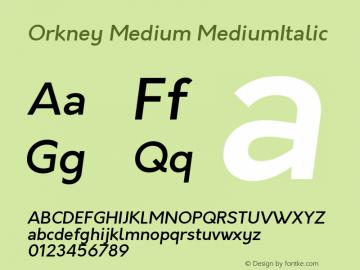 Orkney Medium