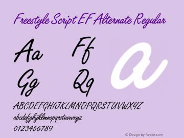Freestyle Script EF Alternate