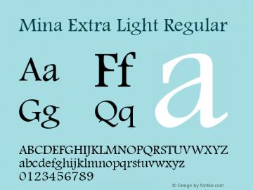 Mina Extra Light