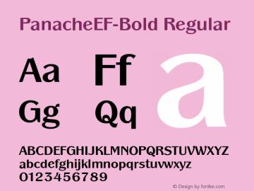PanacheEF-Bold
