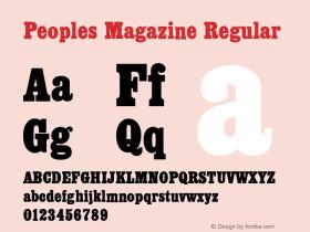 Peoples Magazine