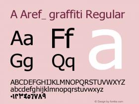 A Aref_ graffiti