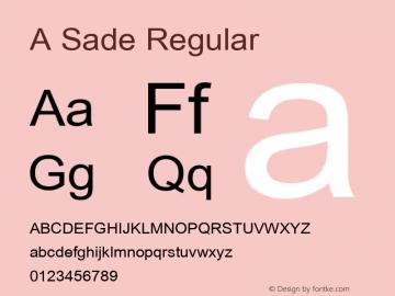 A Sade