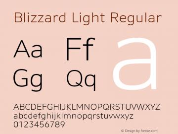 Blizzard Light