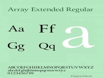Array Extended