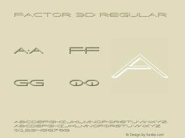 Factor 3D
