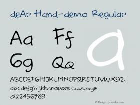 deAr Hand
