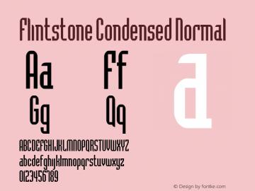 Flintstone Condensed
