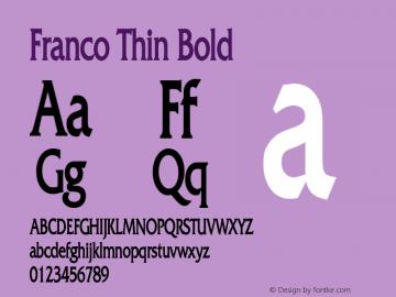 Franco Thin