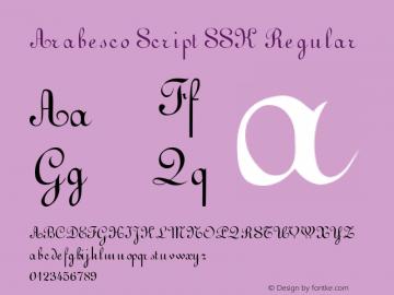 Arabesco Script SSK