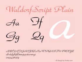 WaldorfScript