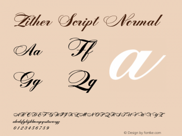 Zither Script