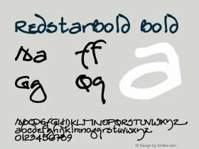 RedstarBold