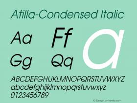 Atilla-Condensed