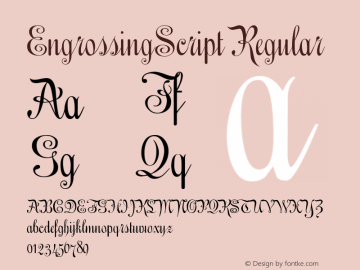 EngrossingScript