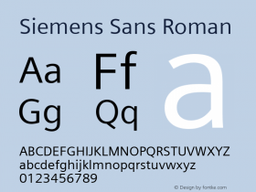 Siemens Sans