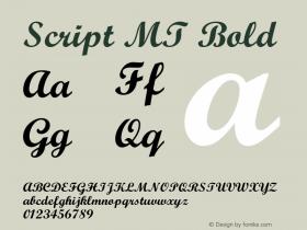 Script MT