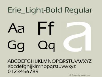 Erie_Light-Bold