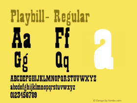 Playbill-
