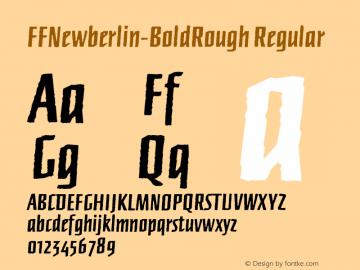 FFNewberlin-BoldRough